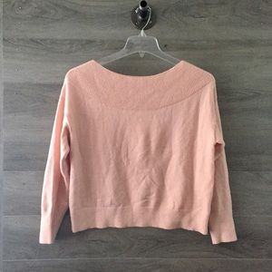 Anthro Moth Raspail Boatneck Sweater